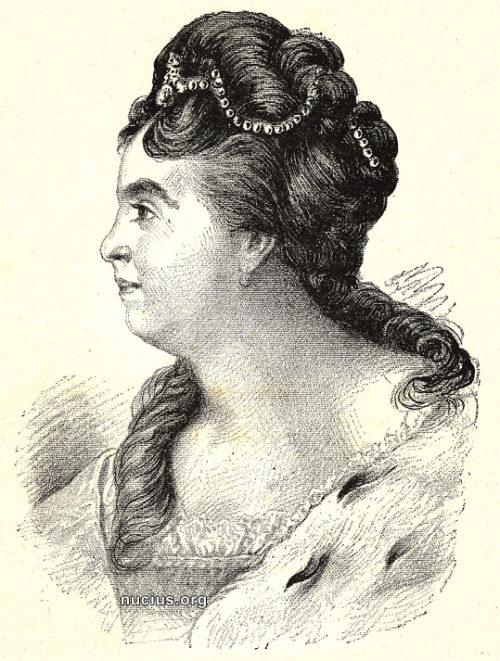Портрет Екатерины I, Мейер фон Вальдек Фридрих