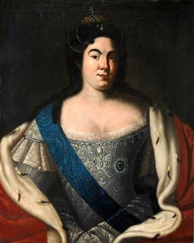 Императрица Екатерина I, автор неизвестен
