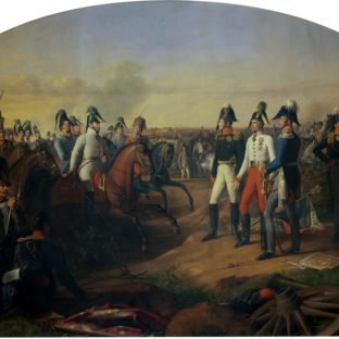 Объявление победы после битвы под Лейпцигом, Иоганн Петер Крафт