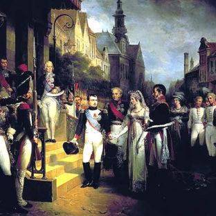 Наполеон в Тильзите, Николас Госс