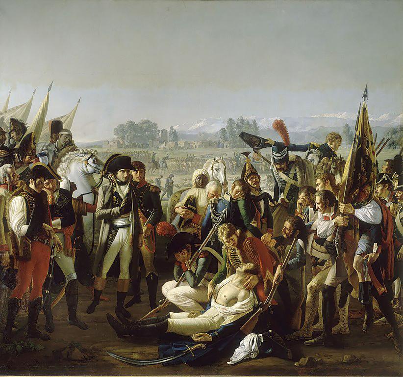 Смерть генерала Дезе, Жан Брок