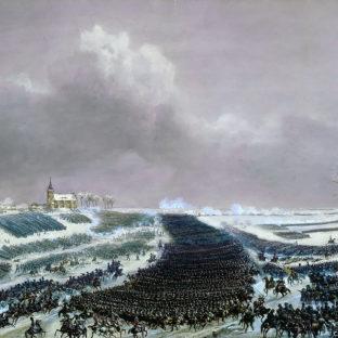 Битва при Эйлау, кавалерийская атака, 8 февраля 1807 года, Жан-Антуан-Симеон Форт