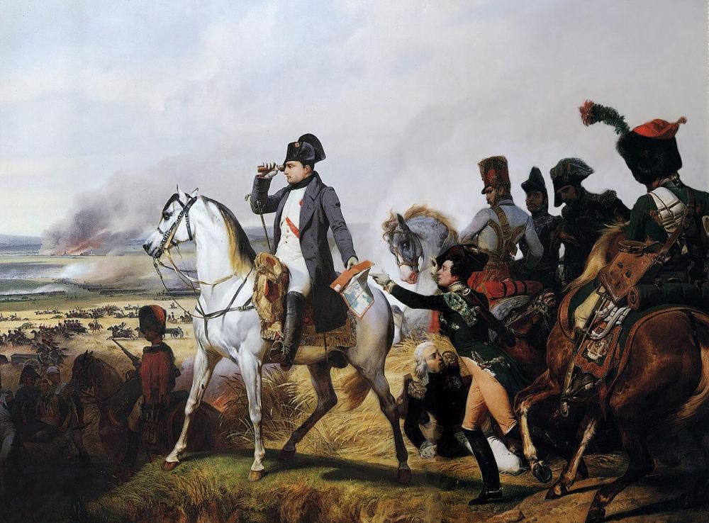 Битва при Ваграме, Орас Верне