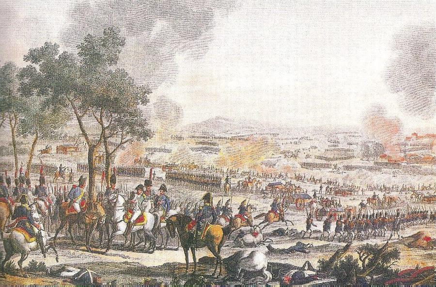 Окончание битвы при Ваграме, Фредерик Нуле