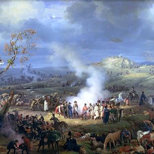 Бивуак накануне битвы при Аустерлице, 1 декабря 1805 г., Луи-Франсуа Лежен