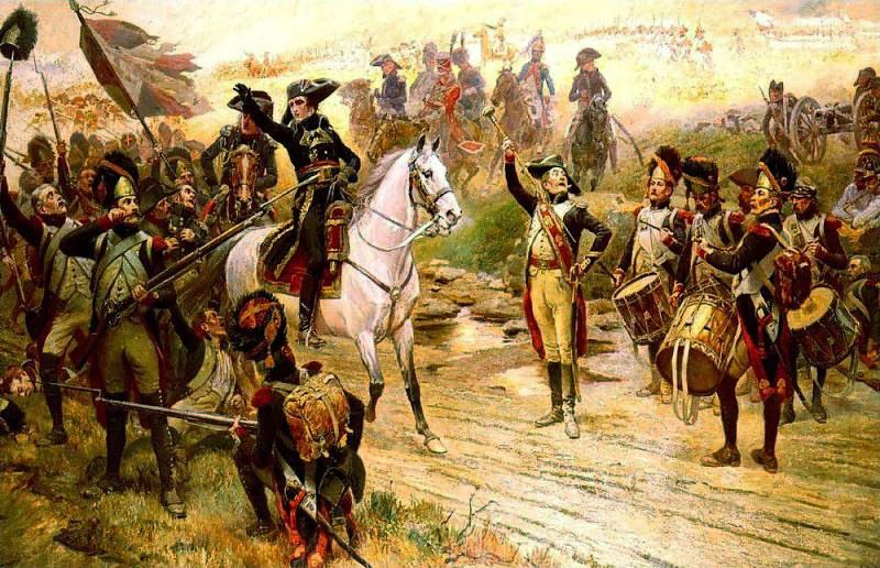 Первый консул Наполеон Бонапарт в битве при Маренго, Альфонс Лалоз