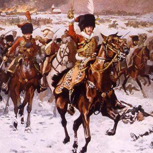 Генерал Дальманн в битве при Эйлау, 8 февраля 1807 года, Виктор Юэн