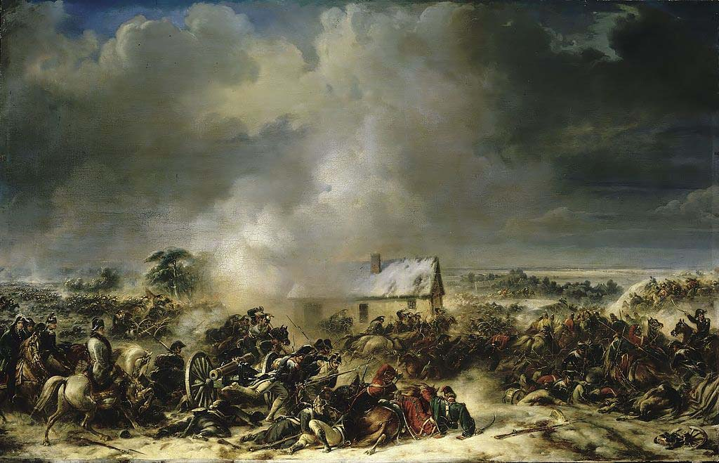 Бой при Гофе, 6 февраля 1807 год, Жан Шарль Ланглуа
