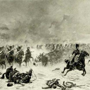 Битва при Прейсиш-Эйлау, атака гренадеров Имперской Гвардии, Франсуа Шоммер