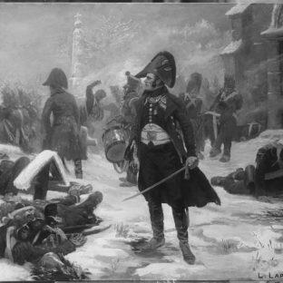 Капитан Гюго в Эйлау, 1807 год, Люсьен Лапейр