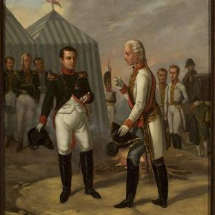 Наполеон и Франциск II после битвы при Аустерлице, Александр Станкевич