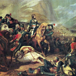 Наполеон в битве при Риволи, Феликс-Эмманюэль-Анри Филиппото