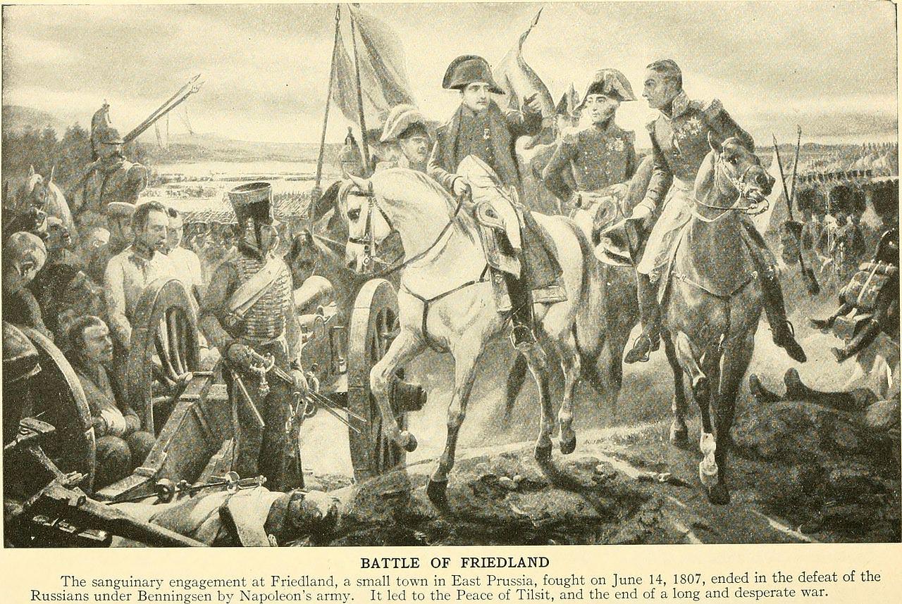 Битва при Фридланде, Чарлз Моррис